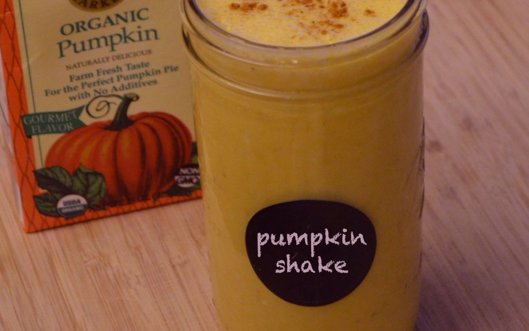 Pumpkin Power Shake