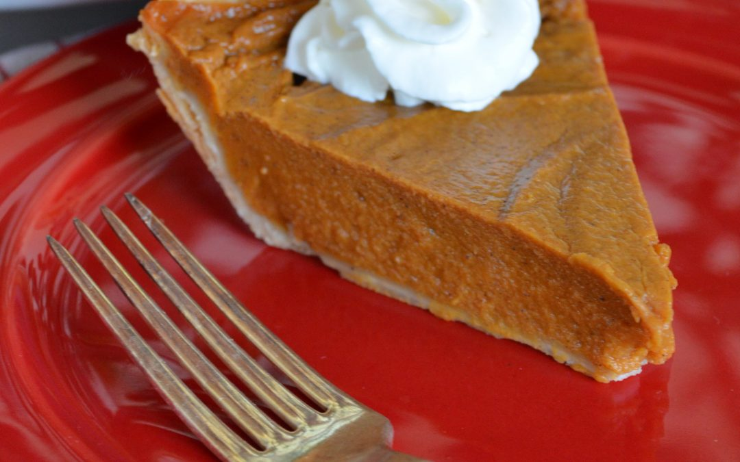 Dairy-Free Sweet Potato Pie