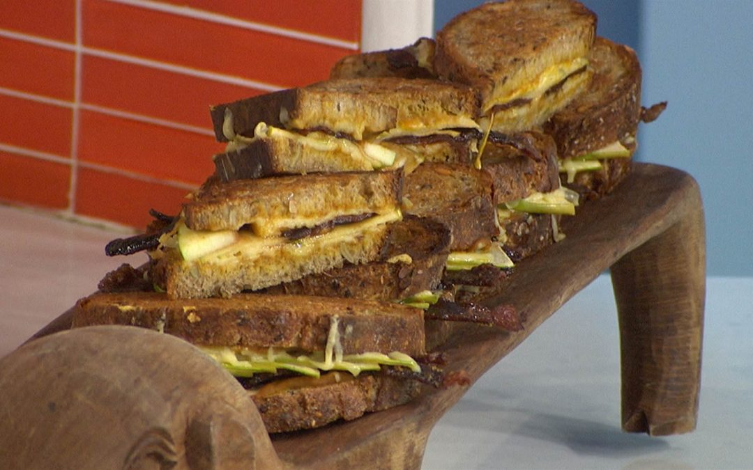 Pumpkin Grilled Cheese on Today Show