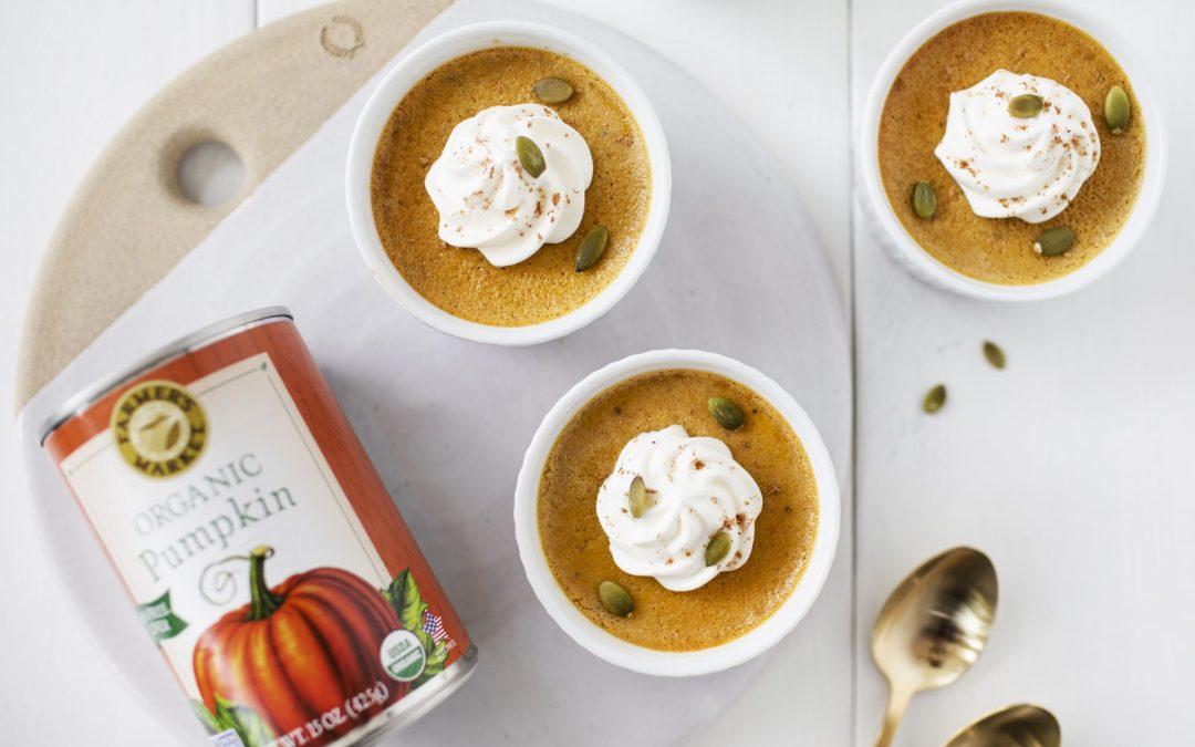 Pumpkin Spiced Pots de Creme