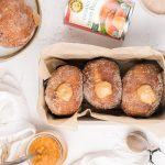 Sweet Potato Brionuts With Spiced Maple Tahini Filling
