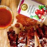 Cranberry Chipotle BBQ Sauce Farmer's Market Organic Cranberry Sauce