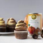 Pumpkin Chocolate Twist Cupcakes Farmer's Market Organic Pumpkin Pie Mix
